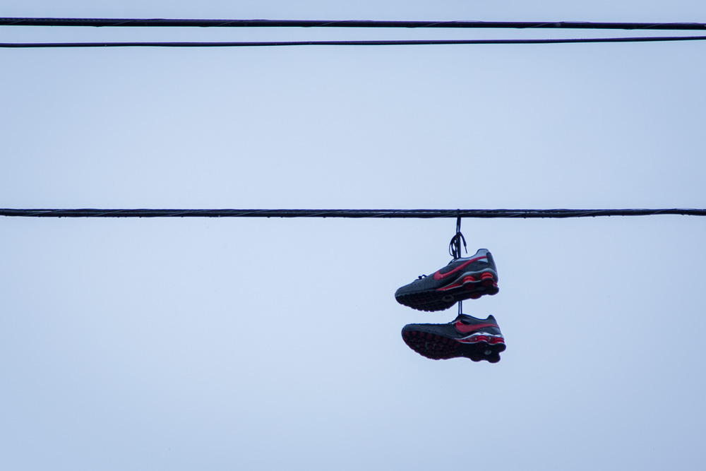 Jour #170 - Shoes tossing
